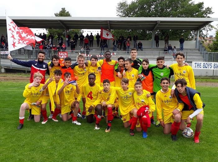 la squadra dell'Under 15 regionale